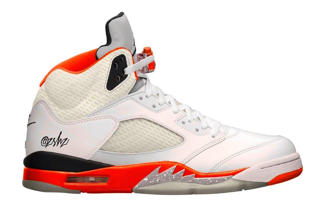 """Air Jordan 5 """"Orange Blaze"""""""