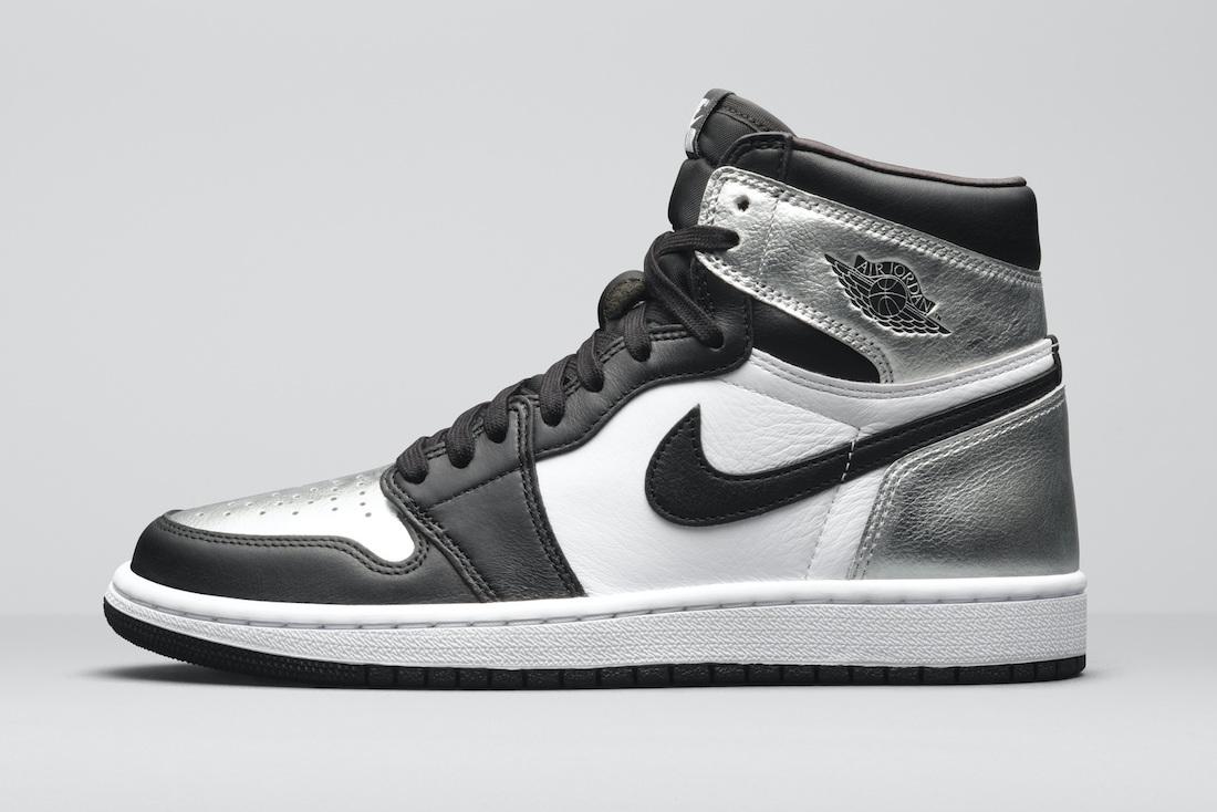 "Air Jordan 1 High OG WMNS ""Silver Toe"""