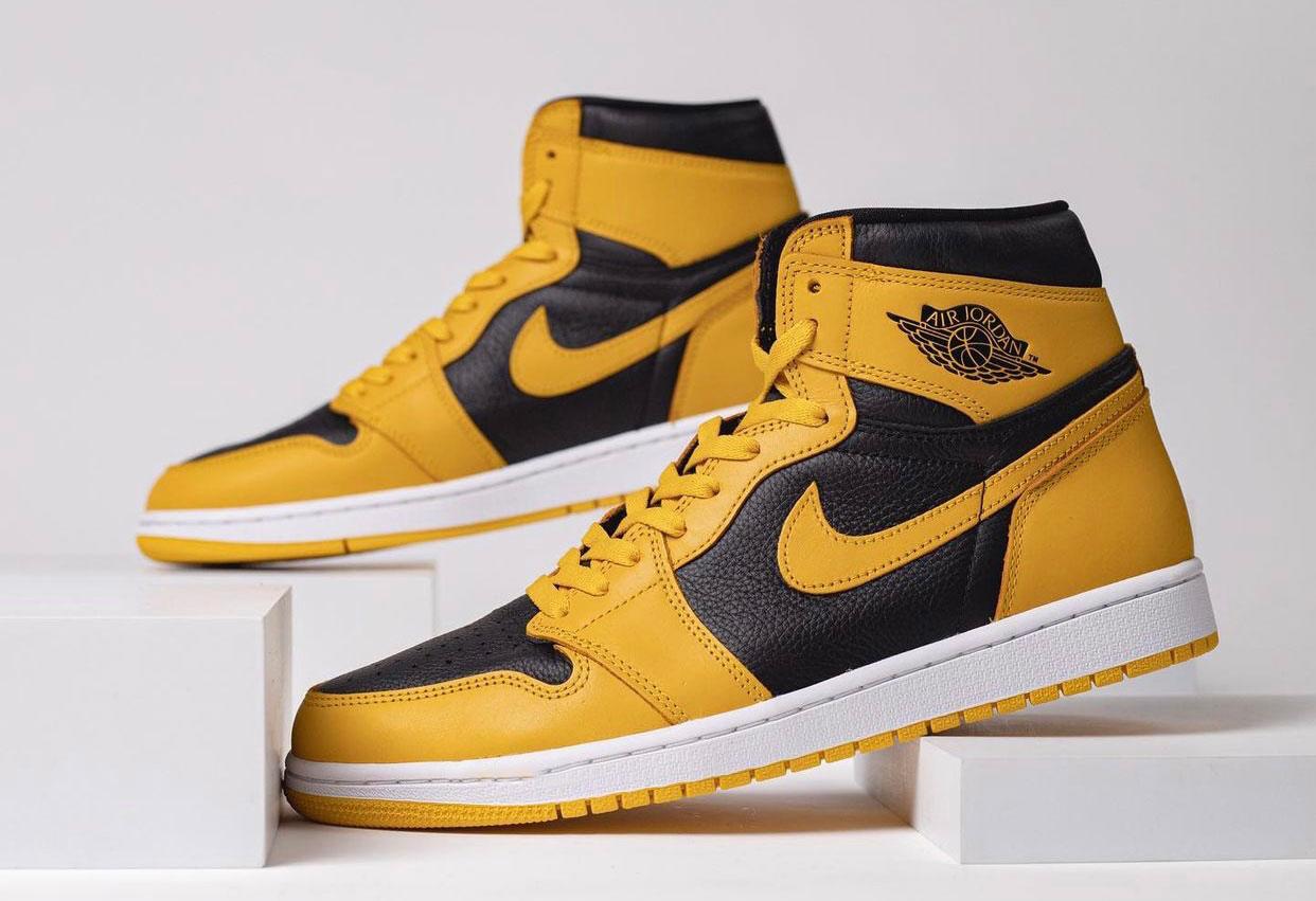 """ナイキ エアジョーダン1 ハイ OG """"パラン GS """"Nike Air Jordan 1 High OG """"Pollen"""""""