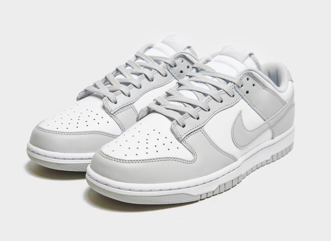 """Nike Dunk Low """"Grey Fog"""""""