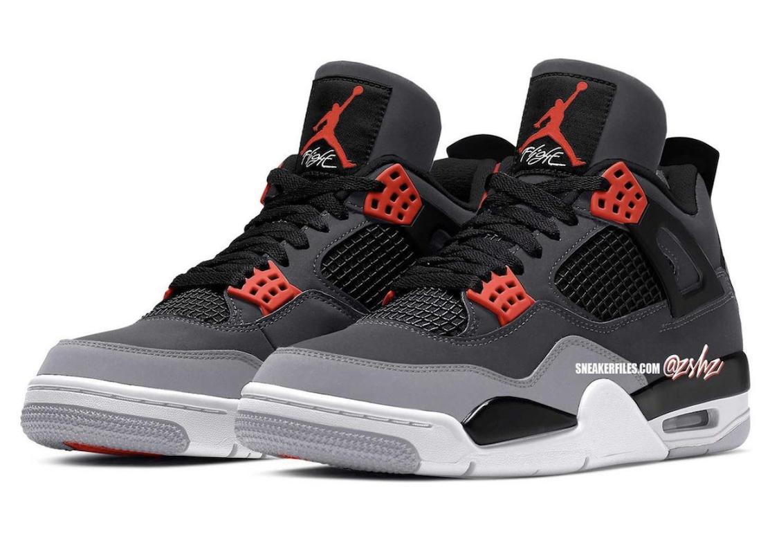 """Nike Air Jordan 4 Retro """"Infrared"""""""