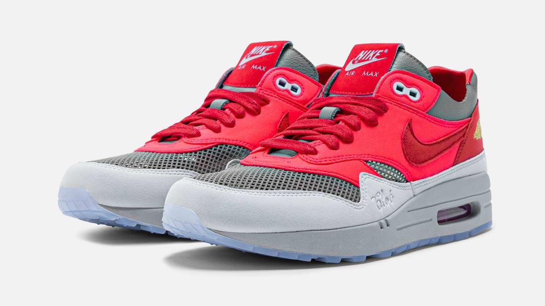 """CLOT x Nike Air Max 1 """"K.O.D. Solar Red"""""""