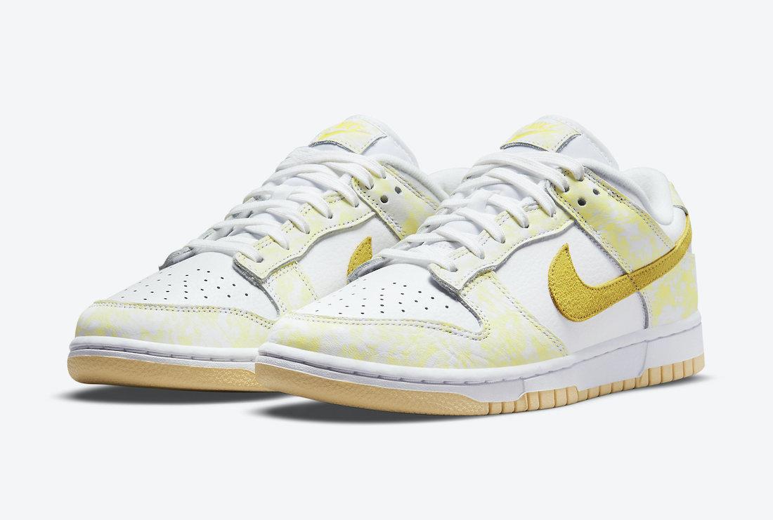 """Nike Dunk Low WMNS """"Yellow Strike"""""""