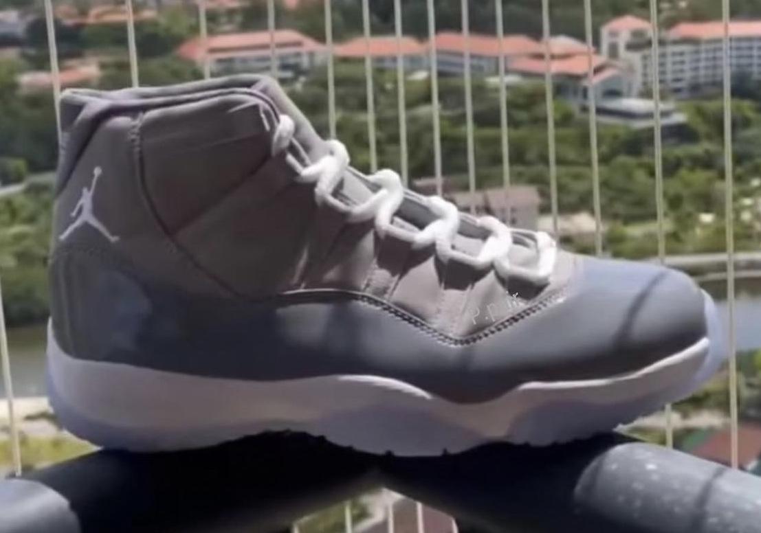"""ナイキ エア ジョーダン 11 """"クール グレー""""Air Jordan 11 """"Cool Grey"""""""