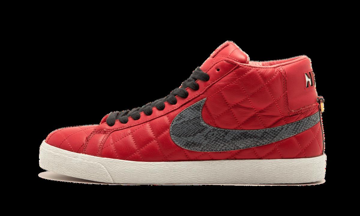 """Supreme x Nike SB Blazer """"Varsity Red"""""""