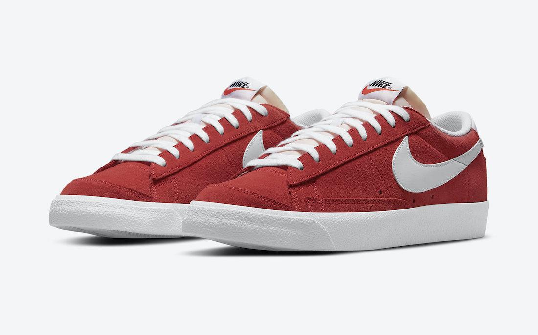 """Nike Blazer Low """"University Red"""""""