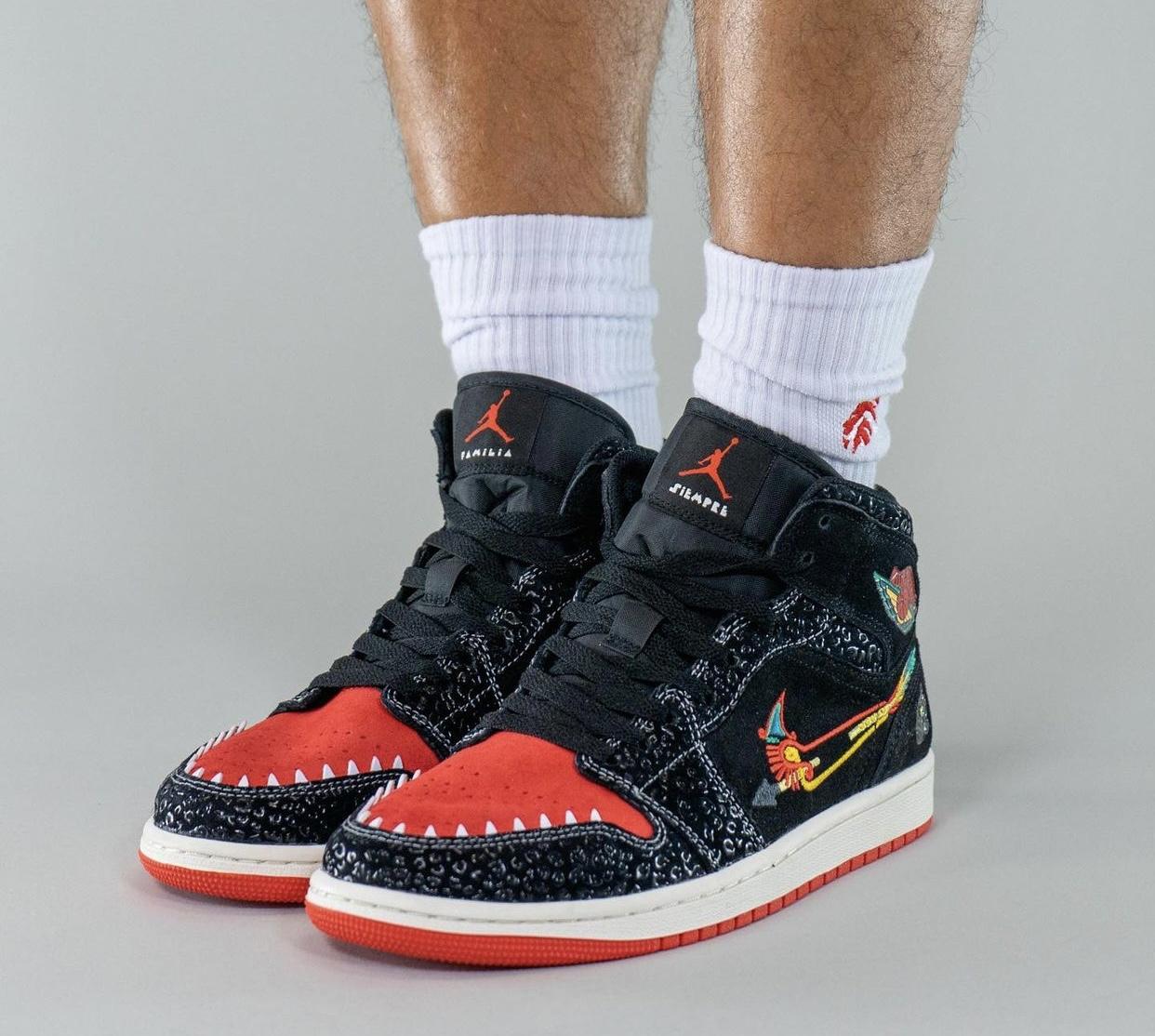 """ナイキ エアジョーダン1 ミッド """"シエンプレ ファミリア"""" Nike Air Jordan 1 Mid """"Siempre Familia"""""""