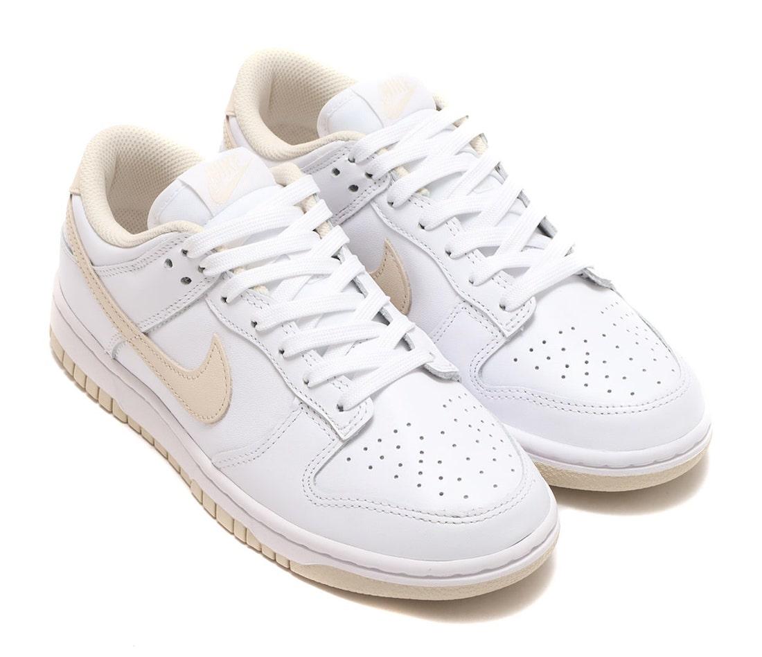 """ナイキ ウィメンズ ダンク ロー """"パールホワイト"""" Nike Wmns Dunk Low """"Pearl White"""""""