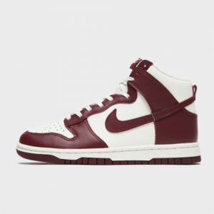 """NIKE WMNS DUNK HIGH """"TEAM RED"""" SAIL/TEAM RED-PALE IVORY"""