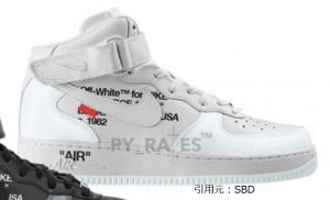 オフホワイト × ナイキ エアフォース1 ミッド 2カラー Off-White × Nike Air Force 1 Mid 2Colors White/Clear-White
