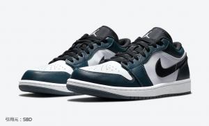 """ナイキ エアジョーダン1 ロー """"ダークティール"""" Nike Air Jordan 1 Low """"Dark Teal"""""""